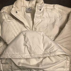 Adidas down puffer jacket